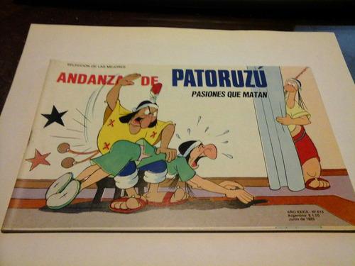 revista patoruzu n 613 pasiones que matan junio de 1995