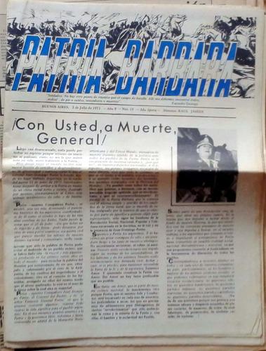 revista patria barbara x2 -año 9 n°15 2a epoca 2-12 jul 1973