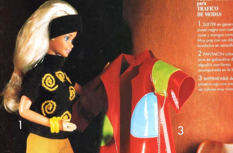 Asombroso Patrones De Punto De Barbie Ilustración - Ideas de ...