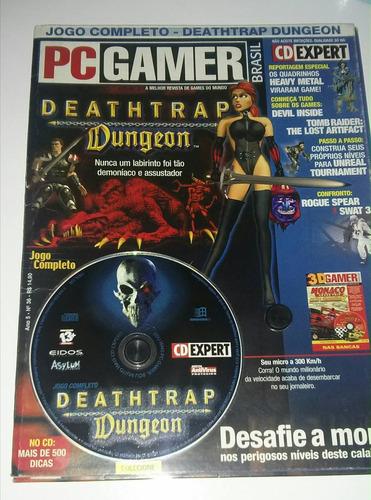 revista pc gamer - jogo deathtrap dungeon para pc - raridade