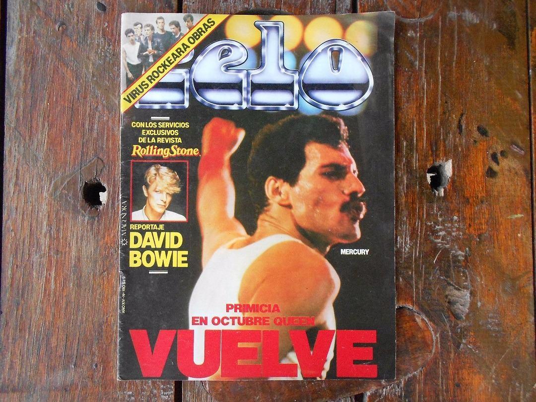 Revista Pelo N° 190 Freddie Mercury -   250 d2819e470714