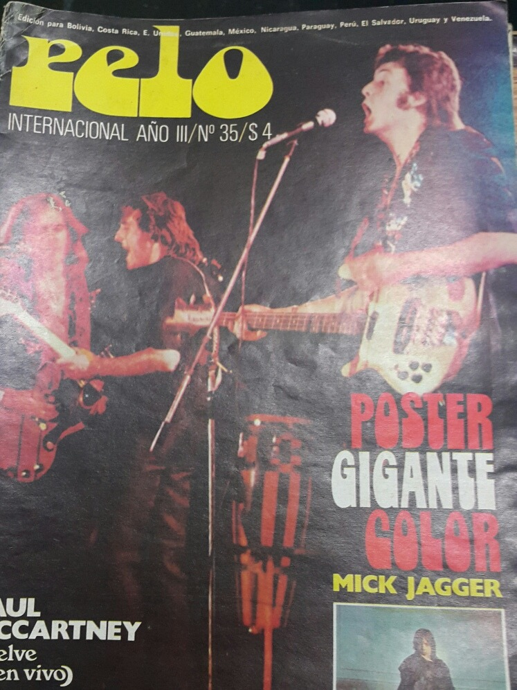 Revista Pelo N 35 Paul Mc Cartney En La Plata -   199 1450f4d26935