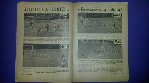 revista peñarol goleada 5 a 0 a nacional 30/11/1953