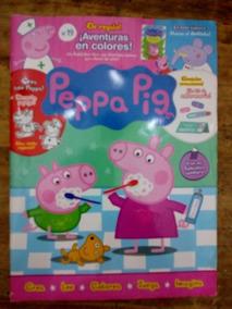 Cree Pig Imagina23 Revista Peppa 19 Colorea Numero Lee CrexBodW