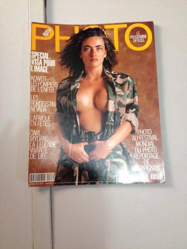 revista - photo - em francês - várias