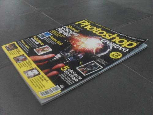 revista photoshop creative edição 40 efeito de câmera rápida