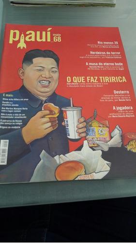 revista piauí 68 maio