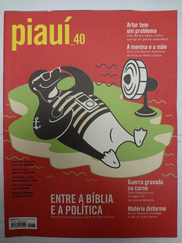 revista piaui n° 40