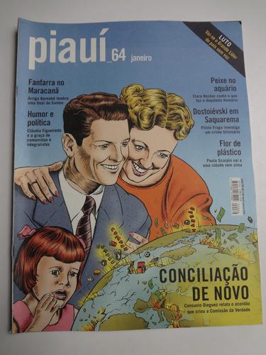 revista piaui n° 64