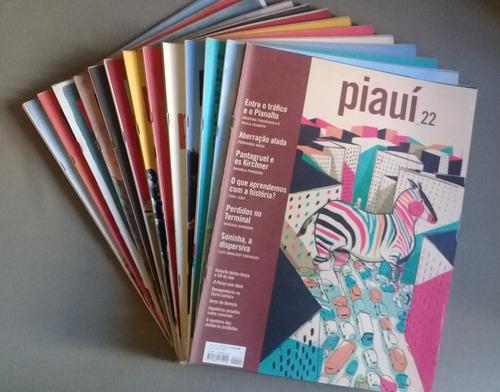 revista piauí - vários números - complete sua coleção