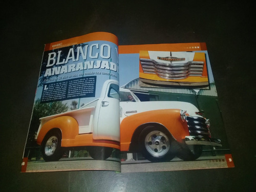 revista pickups camionetas n°71 reportaje  chevrolet apache