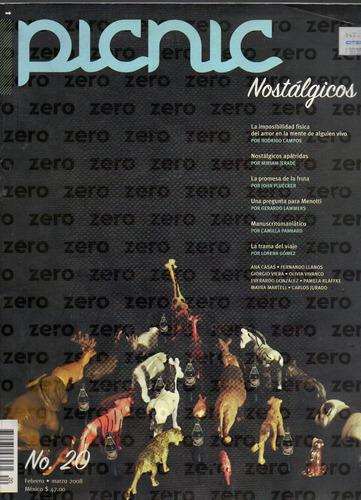 revista picnic no. 20, nostálgicos, feb. 2008, 140 p.