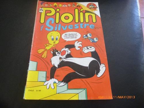 revista piolin y silvestre  nº 1   1990 (279w