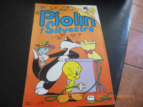 revista piolin y silvestre  nº 2/4 1990(278w