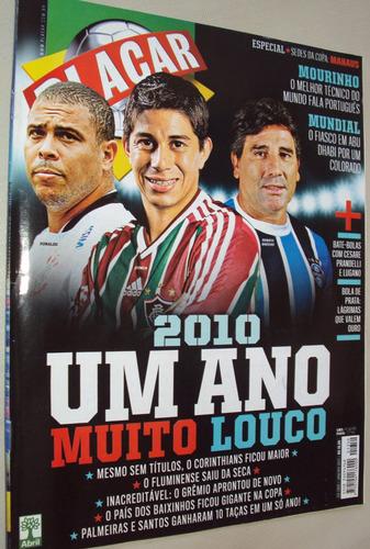 revista placar 1350 2011 bola de prata; retrospectiva 2010