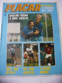 Revista Placar 212 Post- Paysandu Jornal Flamengo Zico 1974