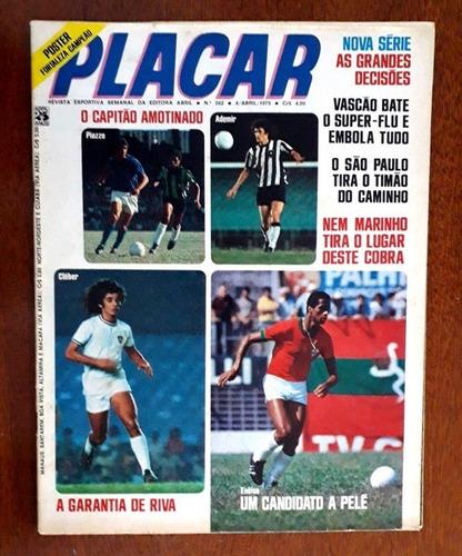 revista placar 262-263-265-268-273-287 com posters-ótimas