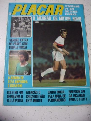 revista placar 296 flamengo inter são paulo cruzeiro 1975
