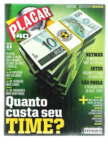 revista placar edição n° 1346