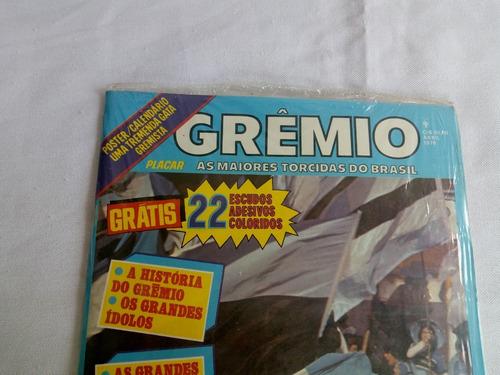 revista placar grêmio lacrada  ano 1979