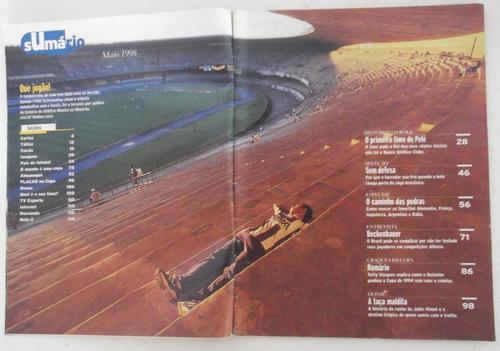 revista placar nº 1139 maio de 1998