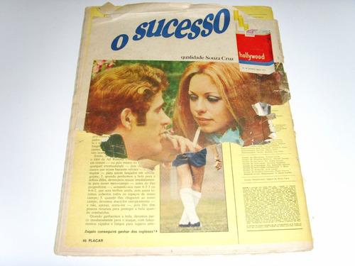 revista placar - nº 12 - 5 junho de 1970