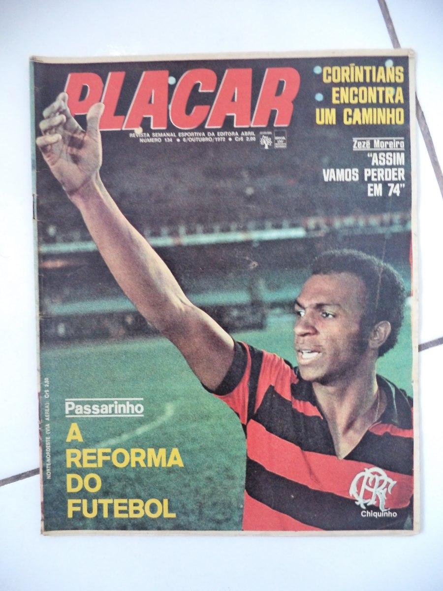 Revista Placar N U00ba 134   Outubro 1972 Futebol De Ouro Anos