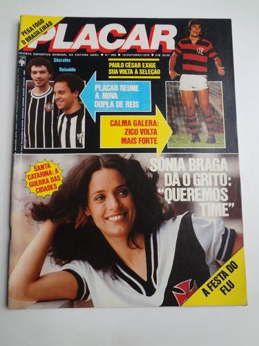 revista placar nº 495 - 19 de outubro 1979