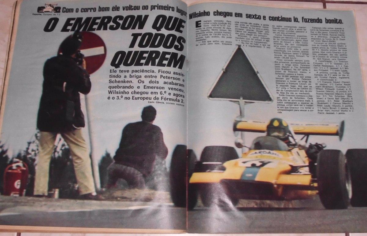 072982360997 Revista Placar Nº 62- Maio 1971 - Gérson