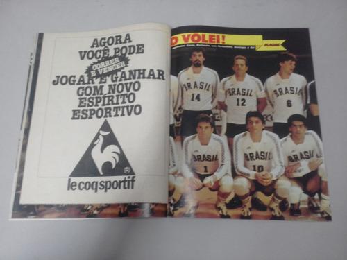 revista placar nº 646 - outubro de 1982 - poster fluminense