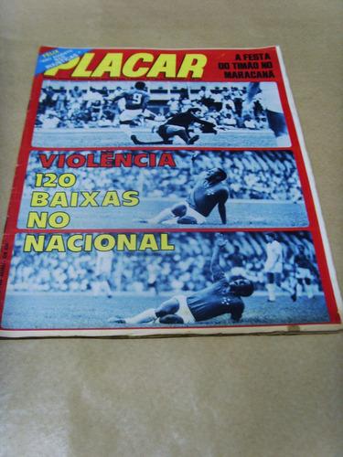 revista - placar -  nº 85 29/out/1971