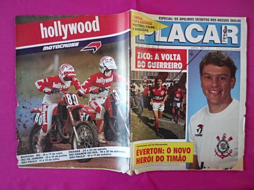 revista placar nº 891 año: 1987, poster: america valdo