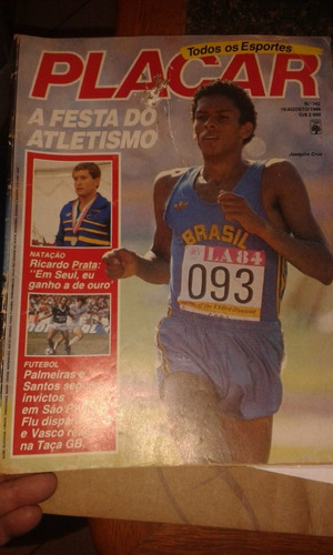 revista placar n°742 agosto 1984