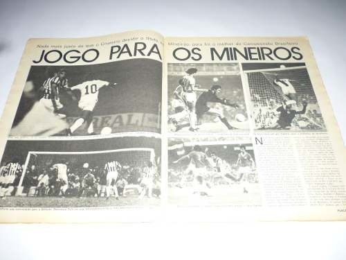 revista placar no 228 /1974- vasco x cruzeiro- final 08/1974