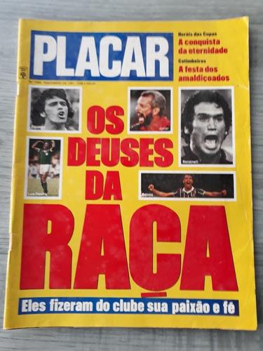 revista placar os deuses da raça ed 1065 novembro 1991