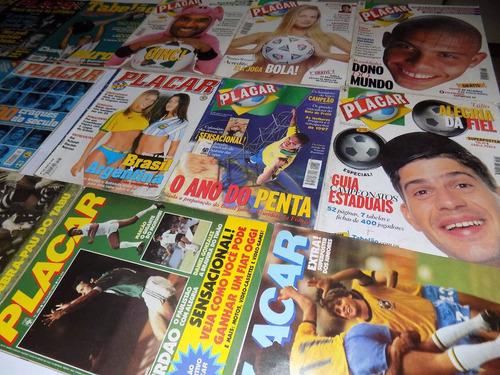 revista placar varias edições