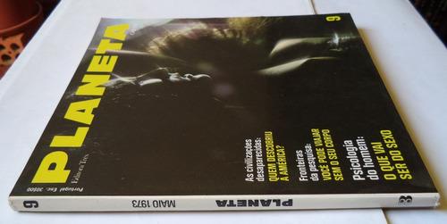 revista planeta nº 9 maio de 1973  rara