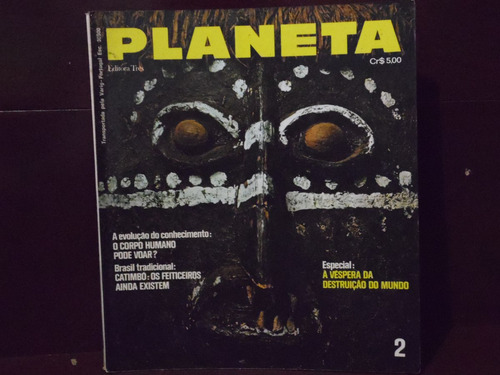 revista planeta n°02 - 1972 - o corpo humano pode voar?