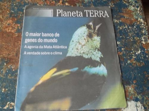revista planeta terra nº 2  o globo ano 2002