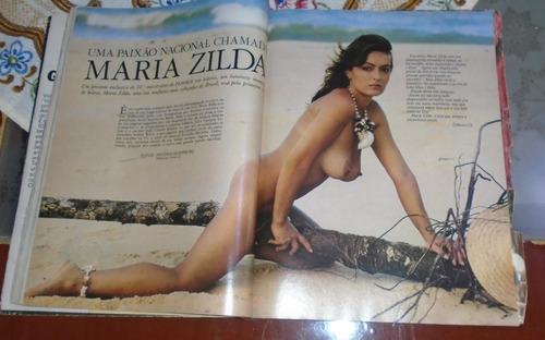 revista playboy 10 anos maria zilda madonna poster 1985