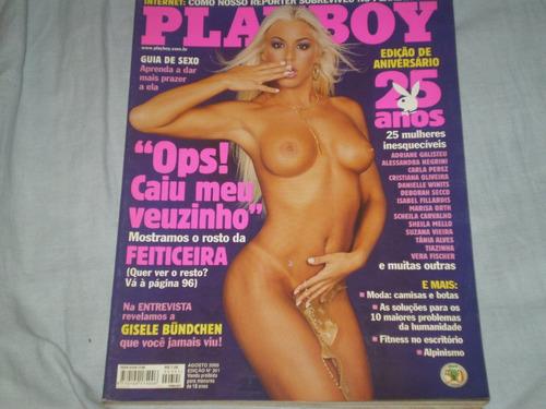 revista playboy 2000.