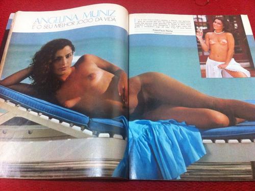 revista playboy 82 angelina muniz karen espetacular gatas