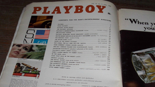 revista playboy americana july 1966 penthouse made in usa