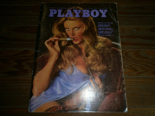 revista playboy americana november 1973 no penthouse hustler