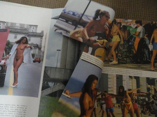 revista playboy cláudia alencar 1987 - sem poster