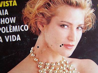 revista playboy - fatima muniz freire nº 192 - julho 1991