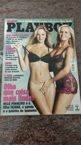 revista playboy helo e ticiane abril 2003