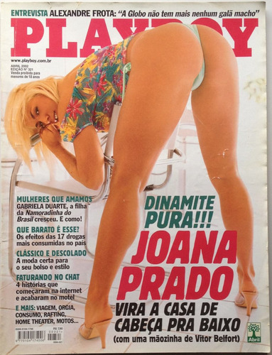 revista playboy joana prado - edição 321