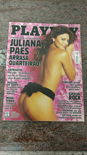 revista playboy juliana paes maio 2004