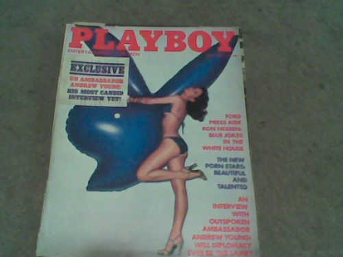 revista playboy julio 1977